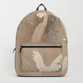 Cockatoos and Wisteria Backpack