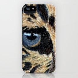 Leopard's eyes iPhone Case
