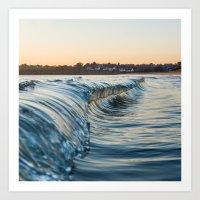 Sunset reflexion Art Print