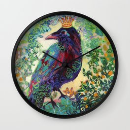 King for a Day Wall Clock