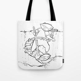 Ninja Master of Illusion Tote Bag