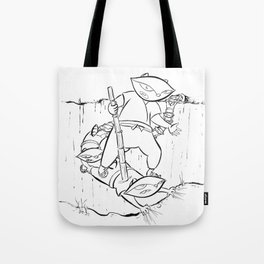 Ninja Master of Illusion Tote Bag
