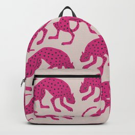 Wild Cats - Pink Backpack