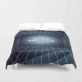 Build The Wall Duvet Cover