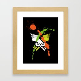 Splatoon - Turf Wars 1 Framed Art Print