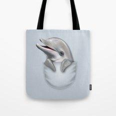 POCKET DOLPHIN Tote Bag