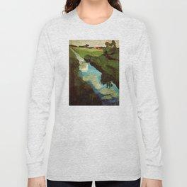 Landscape - Paula Modersohn-Becker Long Sleeve T-shirt