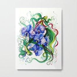 FlowerFish #3 Metal Print