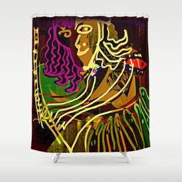 The Piano Girl / Memories / Follies Collection Shower Curtain