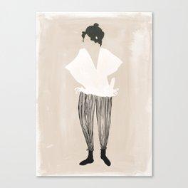 Werner Pantalones Canvas Print