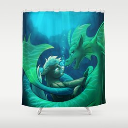Siren's Song Shower Curtain