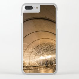 Angeles Crest Spin Clear iPhone Case
