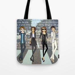 Beatlemania Tote Bag