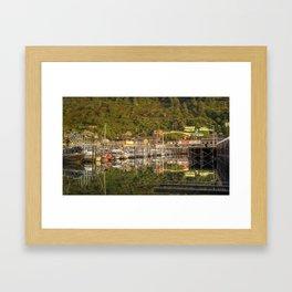 Kodiak, Alaska St. Paul Harbor Framed Art Print