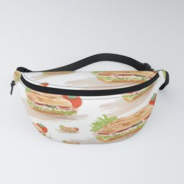 National Hoagie Day Fanny Pack