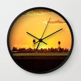 My Little Town Wall Clock