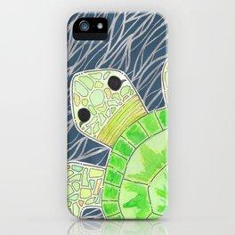 Tortu the Sassy Turtle iPhone Case