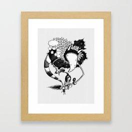 Imaginary Fiend Framed Art Print