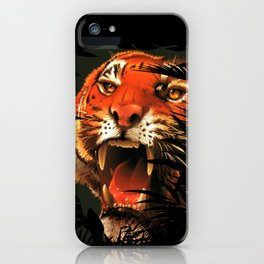 The tiger inside me ... iPhone Case