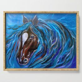 Horse of Color Serving Tray