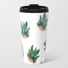 Pattern aloe seamless Travel Mug
