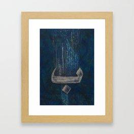Baa Blu Framed Art Print