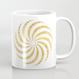 GOLD TORUS circular sacred geometry Coffee Mug