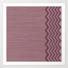 Purple Wave Art Print