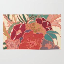 Vintage Floral Tropical - Market + Supply Rug