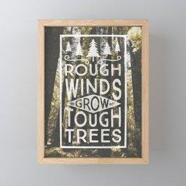 TOUGH TREES Framed Mini Art Print
