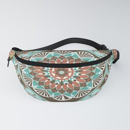 Toned Variety Pattern Fanny Pack
