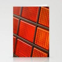 delorean Stationery Cards featuring DeLorean DMC-12 by Matthew Clark