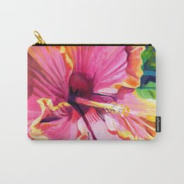 Tropical Bliss Hibiscus Carry-All Pouch