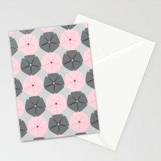 Rose et Gris Stationery Cards