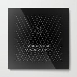 Arcana Academy - Triangular Metal Print
