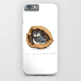 Belly of a Walnut iPhone Case
