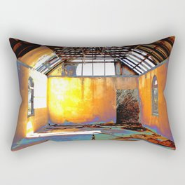 Abandoned Church Rectangular Pillow