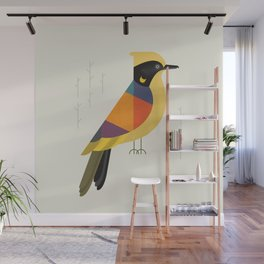 Helmeted Honeyeater Wall Mural