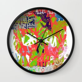 Redestroyed - Full Stop Wall Clock