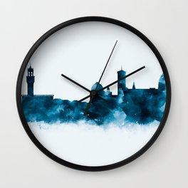 Florence Skyline Wall Clock