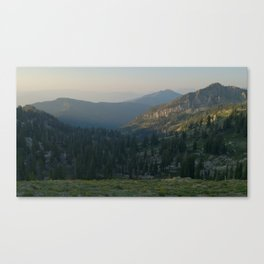 The Wasatch Canvas Print