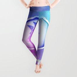 Geek Lite 3 Year Anniversary - Rainbow Style Leggings