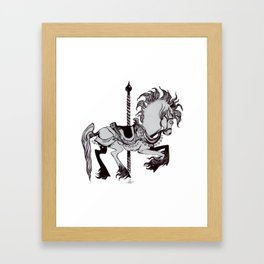 Pony Framed Art Print