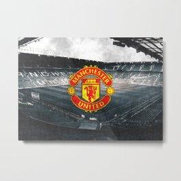 FC Manchester United sketch Metal Print