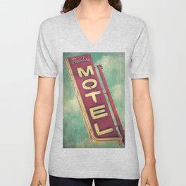 Paradise Motel Sign Unisex V-Neck