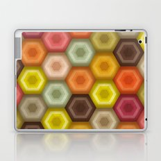 crochet honeycomb retro Laptop & iPad Skin