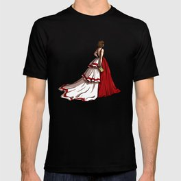 Red Gown T-shirt