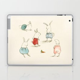 If Rabbits Wore Pants Laptop & iPad Skin