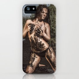 Ohhh Dirty Girl iPhone Case