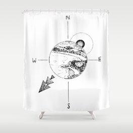 New Zealand's beauty *Whitianga Shower Curtain